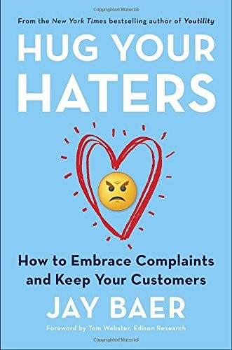 Cover Hug Your Haters Book by Jay Baer