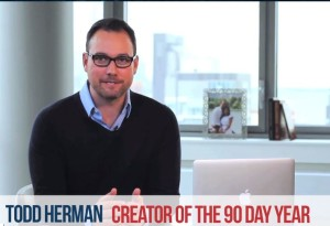 Todd Herman - 90 Day Year